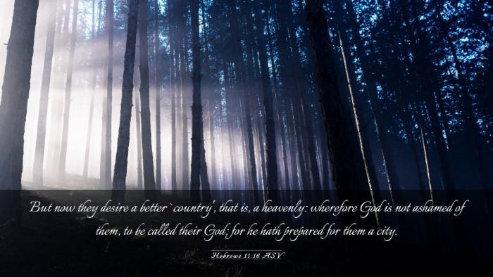 Picture 03 - Hebrews 11:16 ASV Desktop Wallpaper - But now they desire a better `country', that is, - Desktop Bible Verse Wallpaper