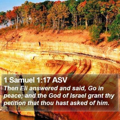 1 Samuel 1:17 ASV Bible Verse Image