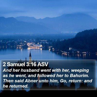 2 Samuel 3:16 ASV Bible Verse Image