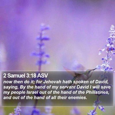 2 Samuel 3:18 ASV Bible Verse Image