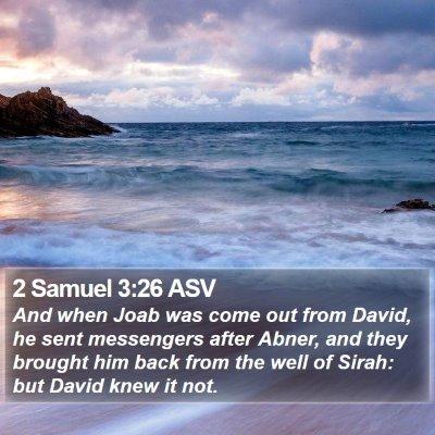 2 Samuel 3:26 ASV Bible Verse Image