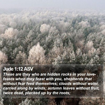 Jude 1:12 ASV Bible Verse Image
