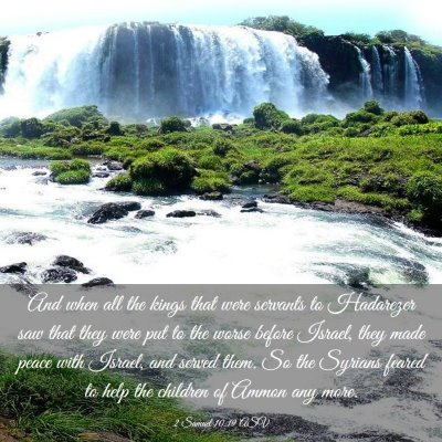 Picture 03 - 2 Samuel 10:19 ASV - And when all the kings that were servants to - Bible Verse Picture