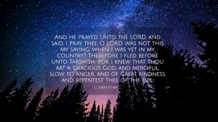 Picture 05 - Jonah 4:2 KJV 4K Wallpaper - And he prayed unto the LORD, and said, I pray - 4K Wallpaper Bible Verse
