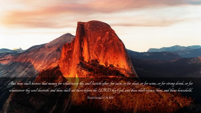 Picture 03 - Deuteronomy 14:26 KJV Desktop Wallpaper - And thou shalt bestow that money for whatsoever - Desktop Bible Verse Wallpaper