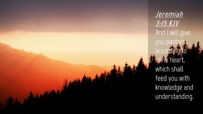 Picture 04 - Jeremiah 3:15 KJV Desktop Wallpaper - And I will give you pastors according to mine - Desktop Bible Verse Wallpaper
