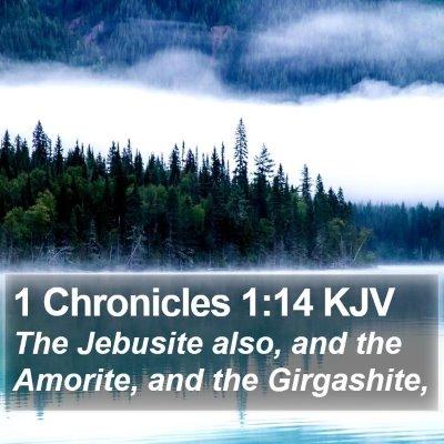 1 Chronicles 1:14 KJV Bible Verse Image