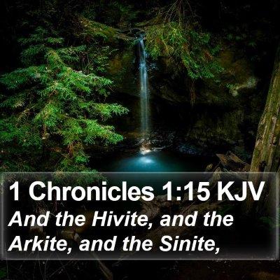 1 Chronicles 1:15 KJV Bible Verse Image