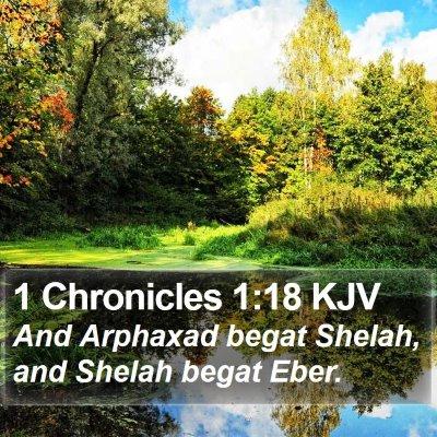 1 Chronicles 1:18 KJV Bible Verse Image