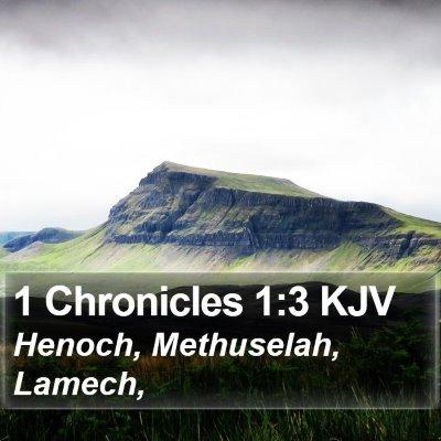 1 Chronicles 1:3 KJV Bible Verse Image