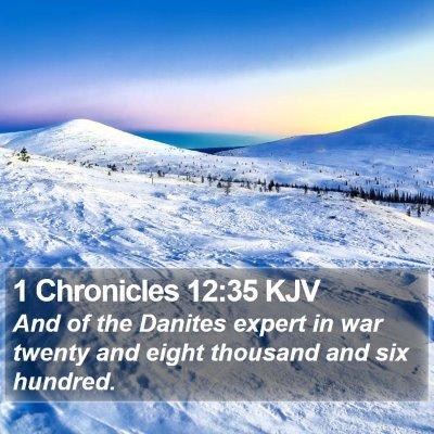 1 Chronicles 12:35 KJV Bible Verse Image