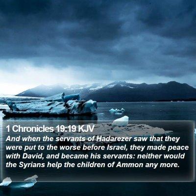 1 Chronicles 19:19 KJV Bible Verse Image