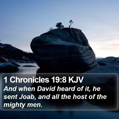 1 Chronicles 19:8 KJV Bible Verse Image