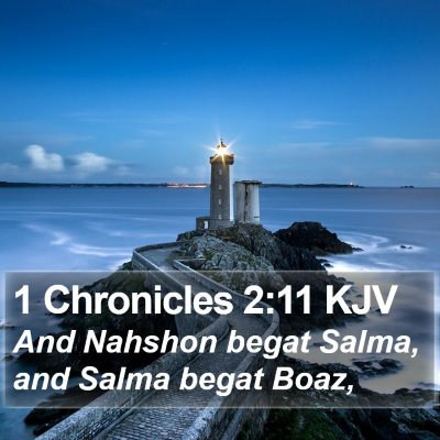 1 Chronicles 2:11 KJV Bible Verse Image