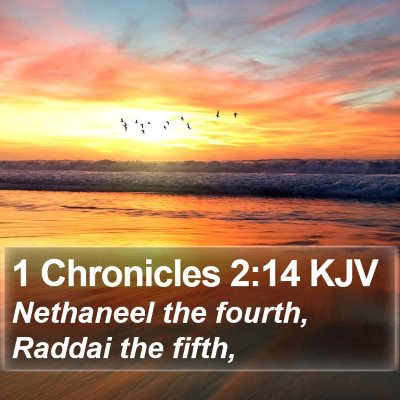 1 Chronicles 2:14 KJV Bible Verse Image