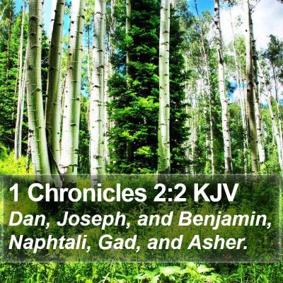 1 Chronicles 2:2 KJV Bible Verse Image