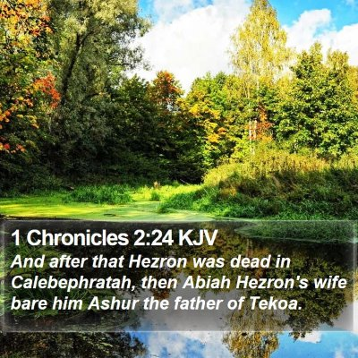 1 Chronicles 2:24 KJV Bible Verse Image