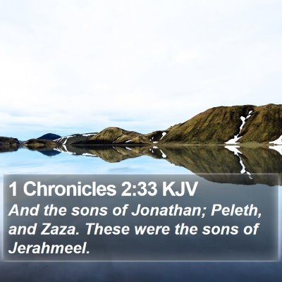 1 Chronicles 2:33 KJV Bible Verse Image