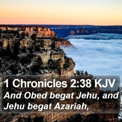 1 Chronicles 2:38 KJV Bible Verse Image