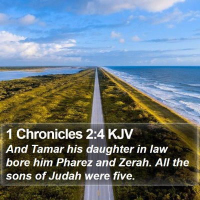 1 Chronicles 2:4 KJV Bible Verse Image