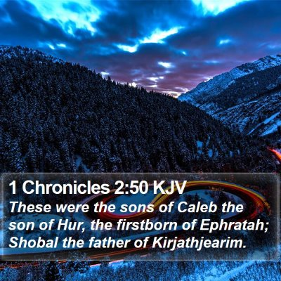 1 Chronicles 2:50 KJV Bible Verse Image