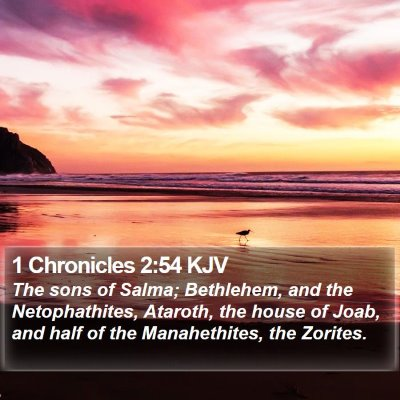 1 Chronicles 2:54 KJV Bible Verse Image