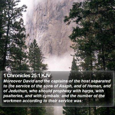 1 Chronicles 25:1 KJV Bible Verse Image