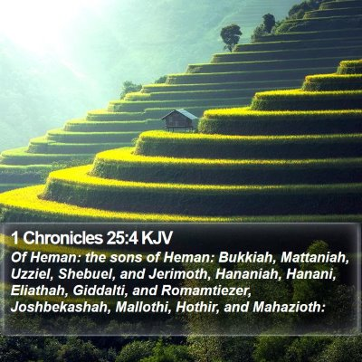 1 Chronicles 25:4 KJV Bible Verse Image