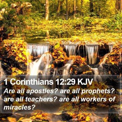 1 Corinthians 12:29 KJV Bible Verse Image
