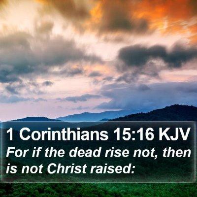 1 Corinthians 15:16 KJV Bible Verse Image