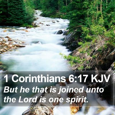 1 Corinthians 6:17 KJV Bible Verse Image