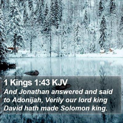 1 Kings 1:43 KJV Bible Verse Image
