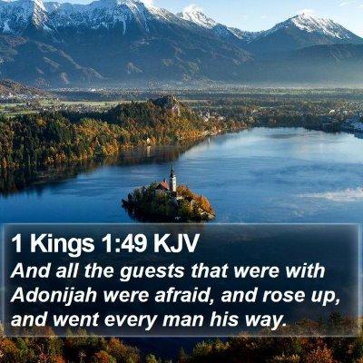 1 Kings 1:49 KJV Bible Verse Image
