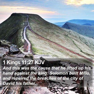 1 Kings 11:27 KJV Bible Verse Image