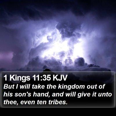 1 Kings 11:35 KJV Bible Verse Image