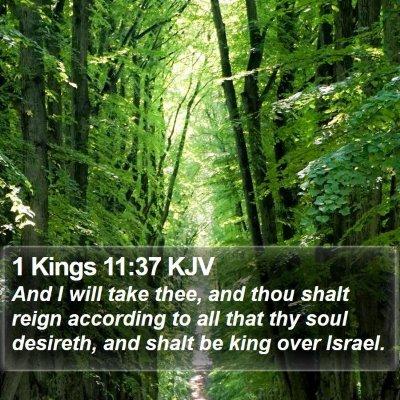 1 Kings 11:37 KJV Bible Verse Image