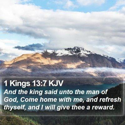 1 Kings 13:7 KJV Bible Verse Image