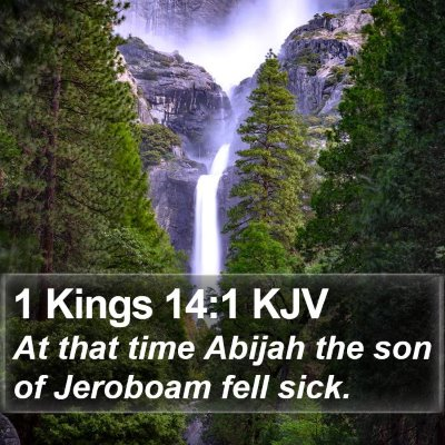 1 Kings 14:1 KJV Bible Verse Image
