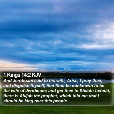 1 Kings 14:2 KJV Bible Verse Image