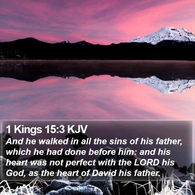 1 Kings 15:3 KJV Bible Verse Image