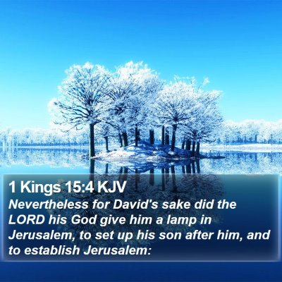 1 Kings 15:4 KJV Bible Verse Image