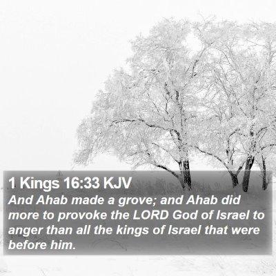1 Kings 16:33 KJV Bible Verse Image