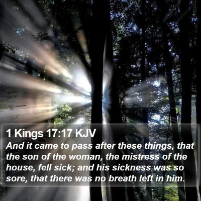 1 Kings 17:17 KJV Bible Verse Image