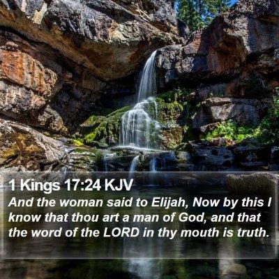 1 Kings 17:24 KJV Bible Verse Image