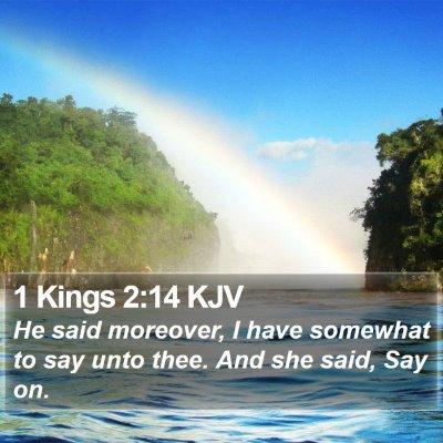 1 Kings 2:14 KJV Bible Verse Image
