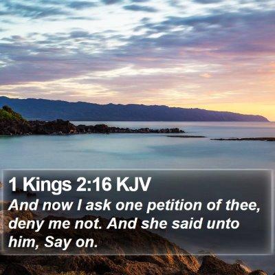 1 Kings 2:16 KJV Bible Verse Image