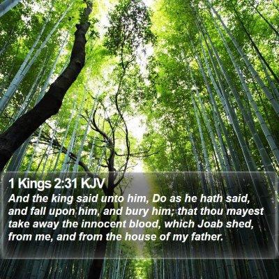 1 Kings 2:31 KJV Bible Verse Image