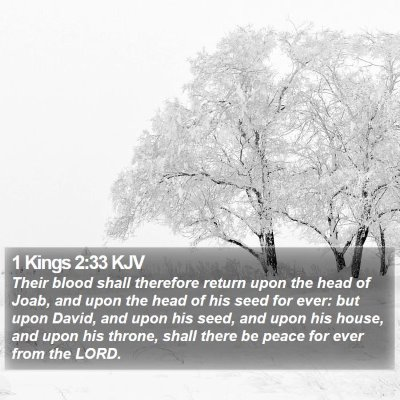 1 Kings 2:33 KJV Bible Verse Image