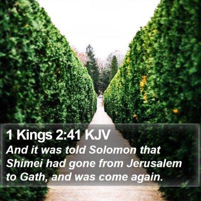 1 Kings 2:41 KJV Bible Verse Image
