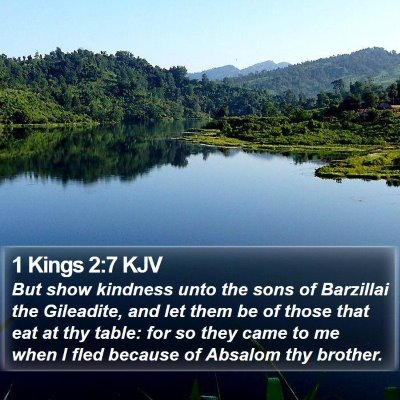 1 Kings 2:7 KJV Bible Verse Image